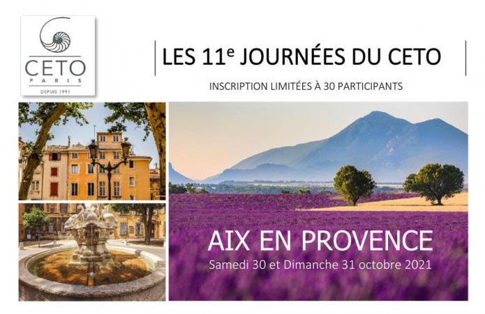 AIX EN PROVENCE - 11e journées du CETO -